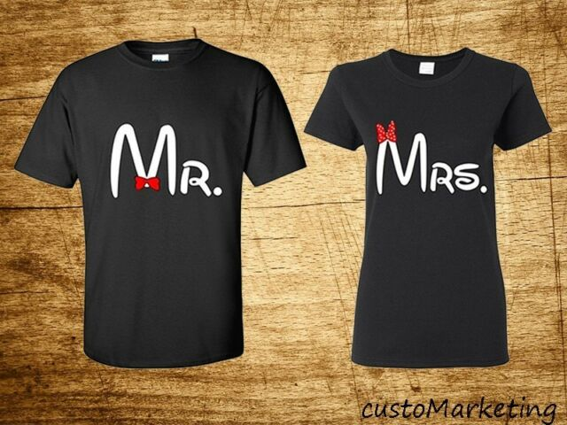 Couple T-Shirt - Mr and Mrs Couple Shirt - Mr and Mrs Tee