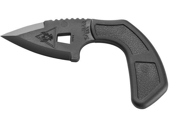 Ka-Bar 9908 TDI Shark Bite Fixed Blade Tactical Knife + Sheath