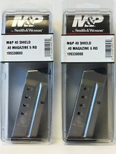 Smith and Wesson M&P 40 Shield .40 Magazine 6 Rd - 199330000 *SOLD in a LOT of 2