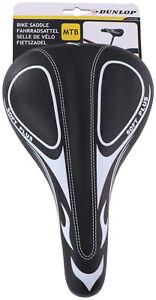 Dunlop-Soft-Plus-Sattel-Komfortsattel-Fahrradsattel-Fahrradsitz-Herren-Damen-MTB