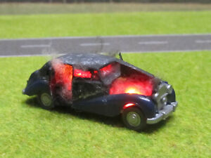 1-87-H0-Rolls-Royce-Silver-Wraith-Vollbrand-LED-12V-Feuer-Laser-Cut-Patina-9