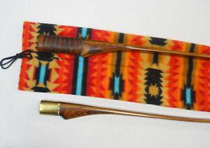 Traditional Archery TAKE-DOWN LONG BOW SOCK / Case -Navajo Indian Pattern Fleece