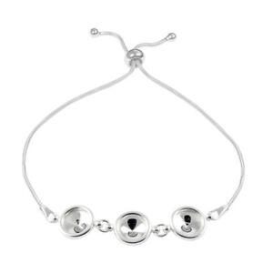 Sterling-Silver-Adjustable-Bracelet-Base-for-Gluing-1122-Rivoli-SS39-Crystals