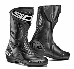 Sidi-interprete-2-GORE-TEX-NOIR-SPORT-Bottes-moto-Metatarse-Shin-protection