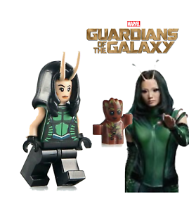 GUARDIAN OF THE GALAXY MANTIS /& BABY GROOT LIKE MINIFIGURE LEGO NEW USA SELLER