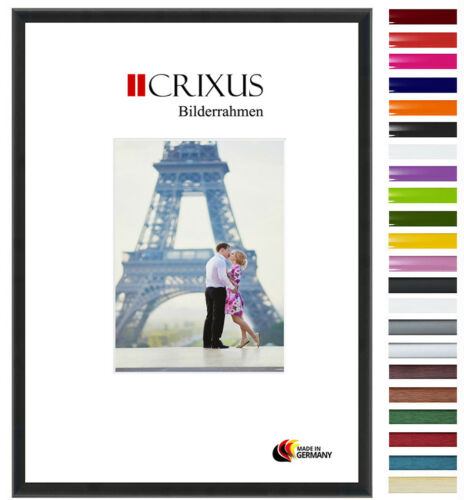CRIXUS23 Real Wood Picture Frame Black Matte Photo Poster Frame B/_43