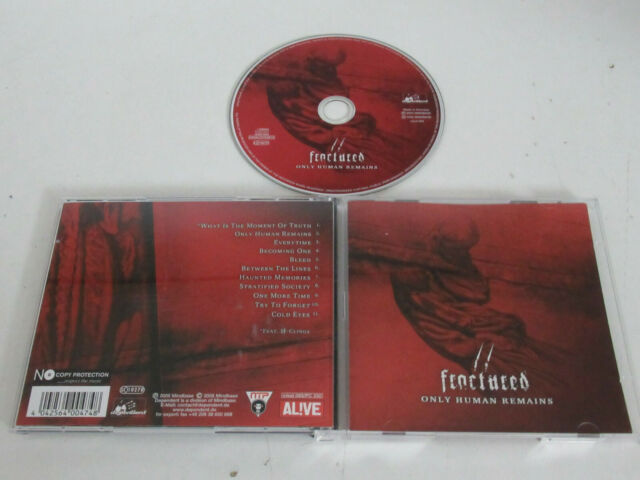 Fractured – Only Human Remains /Dependent – mind 093  CD ALBUM