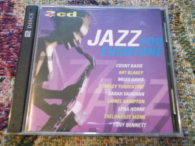 Jazz for Everyone 1998 2 CD Disky compilation CD Bennett Basie Vaughan Mingus
