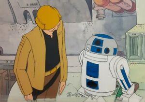 Star-Wars-Holiday-Special-Original-Production-Cel-Animation-Cartoon-Art-Disney