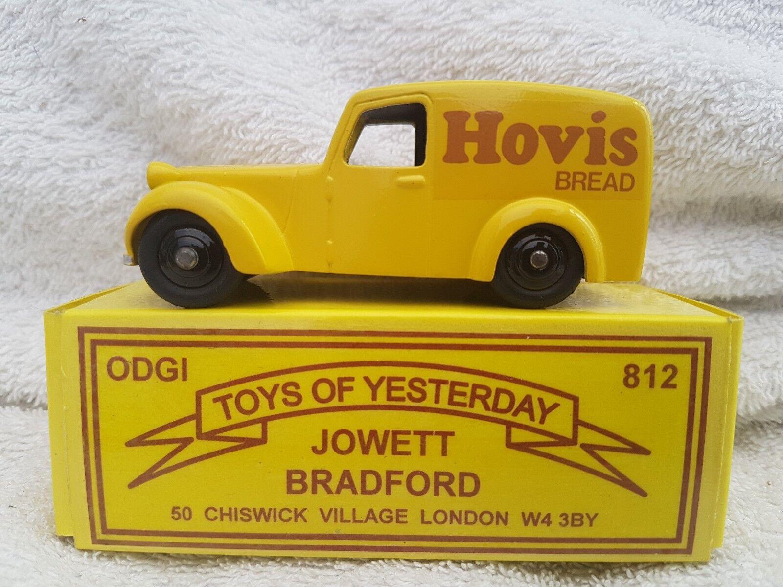La nuit du du du carnaval de Noël, plus la nuit est excitante ODGI jouets d'antan 812 Jowett Bradford Hovis pour pain | La Construction Rationnelle  780bcb
