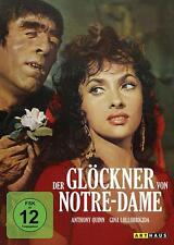Der Glöckner von Notre Dame - Anthony Quinn  Gina Lollobrigida - DVD - OVP - NEU