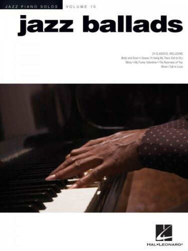 Jazz Ballads Sheet Music Jazz Piano Solos Series Volume 10 Piano Solo  000311788