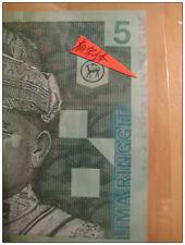 Malaysia Polymer ERROR Note RM5 Ink Transfer Zeti Aziz Rare