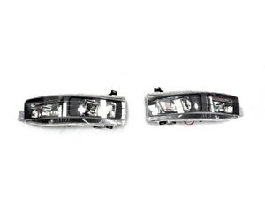 Genuine Holden Left & Right Fog Driving Lamps for Caprice WK WL  Black GMH