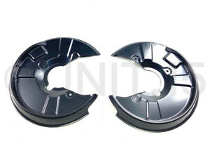 Audi-A4-B6-B7-01-08-Rear-Brake-Cover-Dust-Shields-245-255mm-Solid-discs