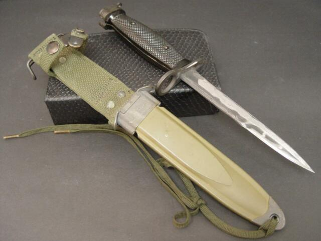 Vintage US M7 MILPAR COL Military Knife with M8A1 PWH Sheath nice