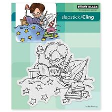 PENNY BLACK RUBBER STAMPS SLAPSTICK CLING ...A WIZARD NEW cling STAMP SET