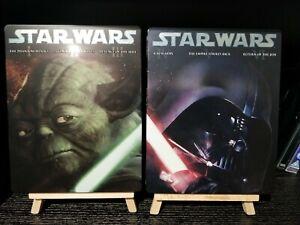Star-Wars-1-3-4-6-Steelbooks-de-ton-included