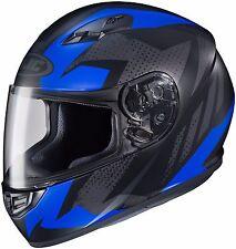 HJC CS-R3 Full Face Motorcycle Helmet Treague MC-2F Size Large DOT