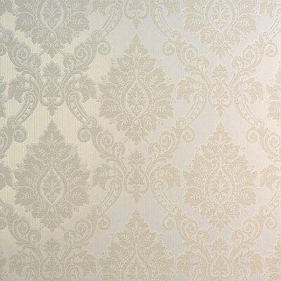 """5812-15-3 Vliestapete /""""Hommage/"""" purer Luxus Tapete mit Glanzeffekt grau silber"""