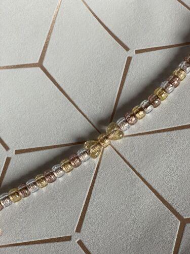 poste libre Hermosa Rosa Oro Brillo Maniquí Clip Con Arco Clip de Metal