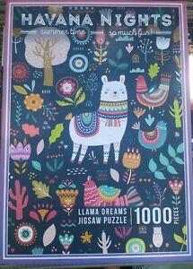Havana Nights, RARE, LLAMA DREAMS 1000 pc Jigsaw Puzzle   eBay