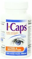 4 Pack - Icaps Lutein And Zeaxanthin Formula Coated Tablets 120 Each on Sale