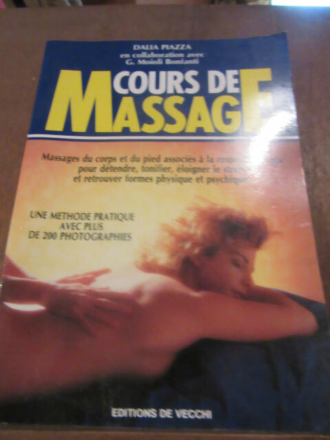 Dalia Piazza: cours de massage/ éditions de Vecchi