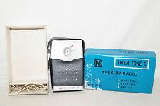 Neckermann TWEN TONE 6 Transistor Taschenradio 60iger Jahre
