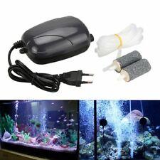 Silent Energy Efficient Double Hole Aquarium Fish Tank Oxygen Air Pump