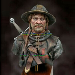 NEW-1-10-Scale-Ancient-Knight-Bust-Model-Figure-Garage-Kits-Unassembled-Statue