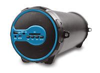 Axess Hifi Bluetooth 3 Subwoofer And 2 Horn 2.1 Speaker (blue) Spbt1038 on sale