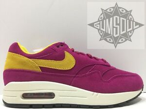 NIKE AIR MAX 1 PREMIUM DYNAMIC BERRY SULFUR 30th ANNIVERSARY