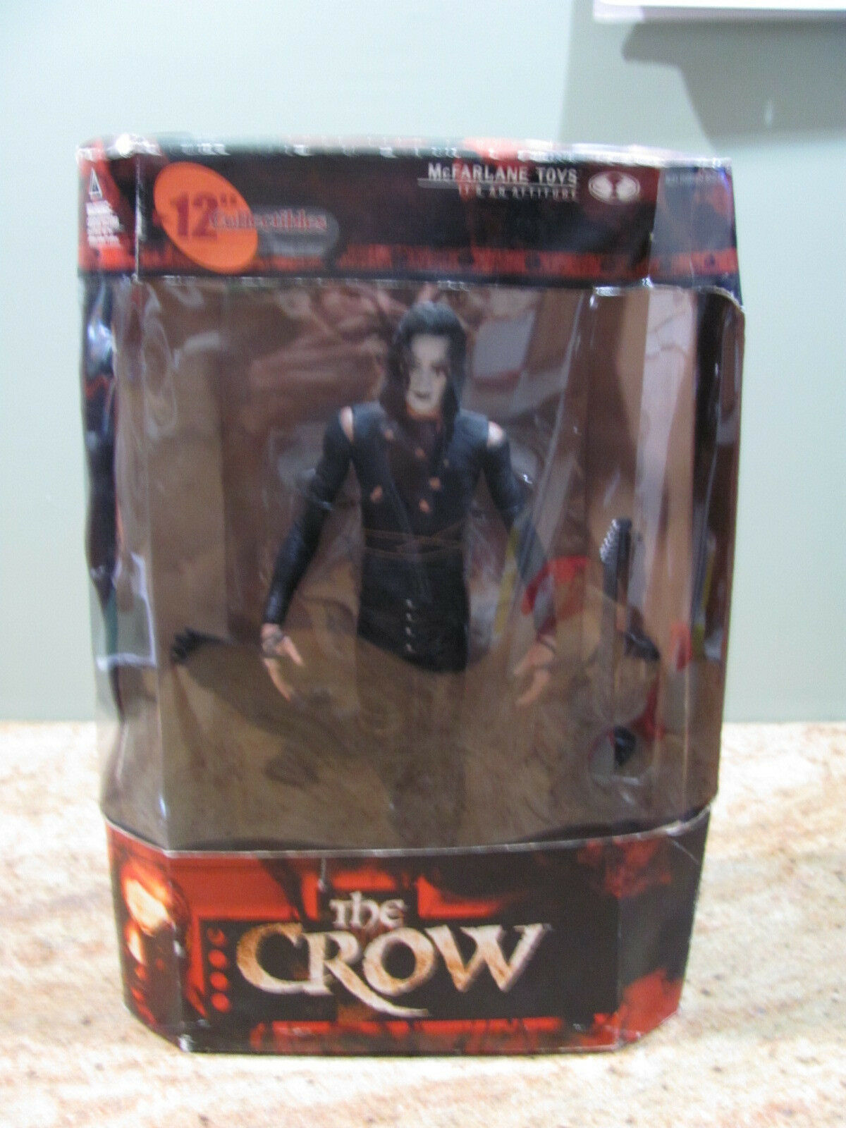 The Crow 12  Eric Draven McFarlane Movie Maniacs 2 Toy Action Figure NIB, USC 94