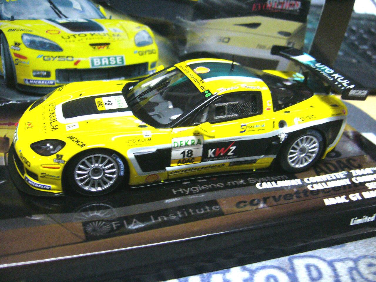 CHEVROLET CORVETTE zo6 r gt3 GT Masters 2011 seiler étroitement  18 Minichamps résidus 1 43