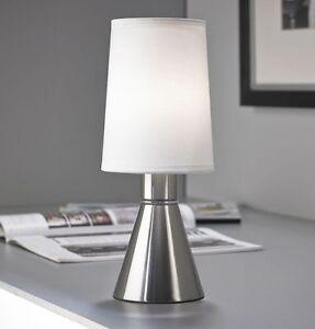 Das Bild Wird Geladen LED Touch Me Nachttischlampe Leselampe Licht Dimmbar Wohnzimmer