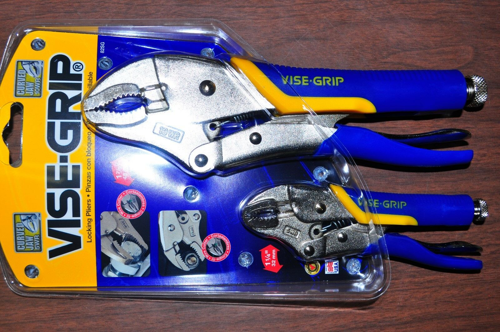 Vise-Grip The Original 10WRSG, 5WRSG  Made in USA with Non-Slip Rubberized grip