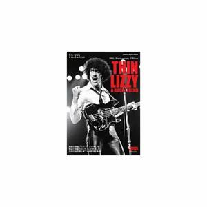 THIN-LIZZY-A-ROCK-LEGEND-Book-Historical-Pix-Discography-History-Data