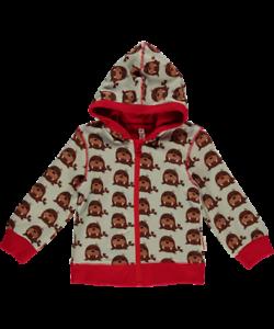Maxomorra Cardigan Hood Baby Walross Sweatjacke Jacke Bio Baumwolle GOTS