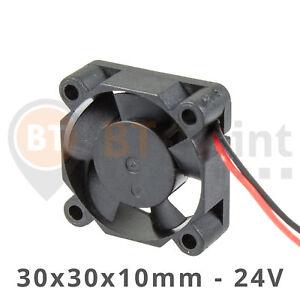 3010S-24V-0-07A-Luefter-30x30x10mm-Brushless-DC-Fan-Cooler-30mm-3D-Drucker-Anet