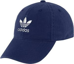 Image is loading adidas-Originals-Relaxed-Trefoil-Logo-Cap-Strap-back- 3345fc11230