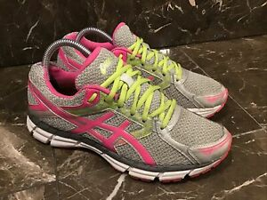 Asics Gel Excite 3 T5b9n Running Shoes Women S Size 8 5 Silver Pink Ebay