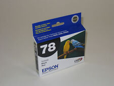 Genuine Epson T0781 black ink 78 R260 R280 R380 RX580 RX595 RX680 Artisan 50 078