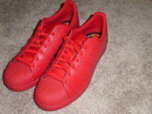 adidas superstar shelltoe supercolor scarpe uomini nuovi s41833 rosso su ebay