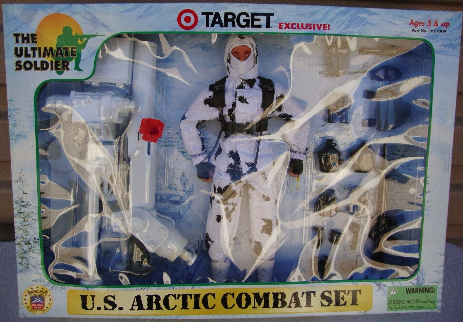 G. I. Joe The Ultimate Soldier U. S. Arctic Combat Set Target Exclusive