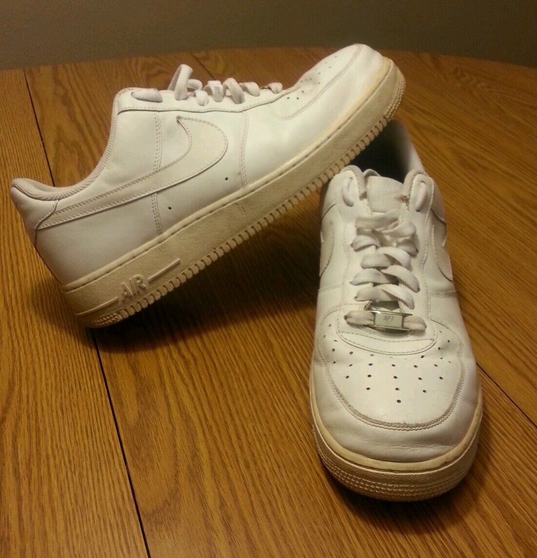 Nike mens air force one low all white 315122-111 platinum size 11.5 triple Special limited time