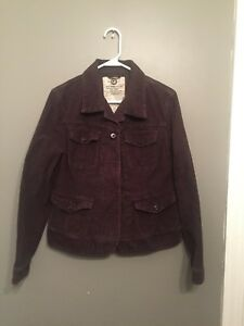 LUCKY-BRAND-WOMEN-039-S-CORDUROY-MILITARY-STYLE-JACKET-SIZE-L-06-KH1-A2356