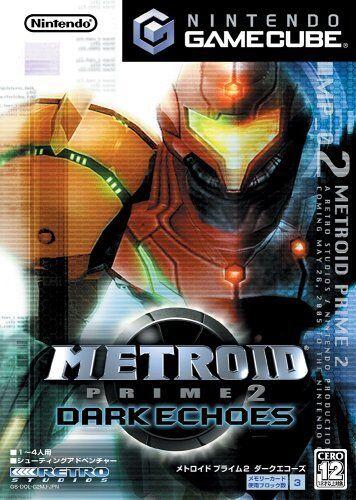 USED Gamecube Metroid Prime 2 Dakuekozu