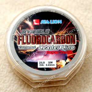 NEW-Sea-Lion-100-Made-in-Japan-Fluorocarbon-Leader-Fishing-Line-25LB-30M