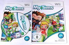 """Nintendo Wii juego """"My Sims"""" completamente"""